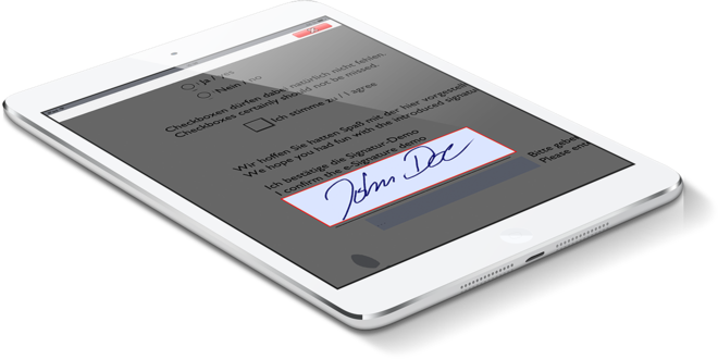 StepOver International GmbH - Electronic Signature with